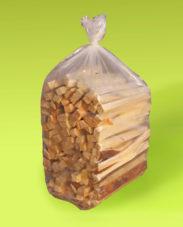 Anbrennholz ab Lager 3,50€/Sack bestellen